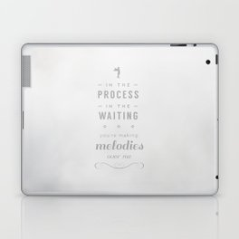 Stop Wait Sit - Shepherd Laptop & iPad Skin