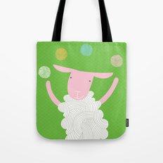 sheep playing Tote Bag
