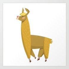 hump day camel Art Print