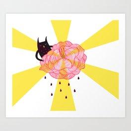 The Flower Doctor Art Print