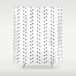 Forest Tracks Shower Curtain