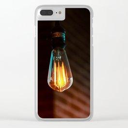 light bulbs 3 Clear iPhone Case