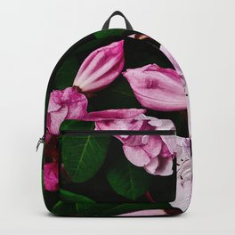 Spring Pink Rhododendron Backpack