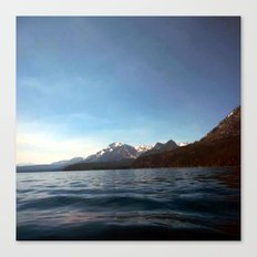 soft waves Canvas Print