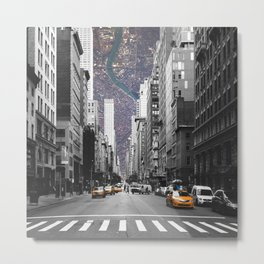Cityception Metal Print