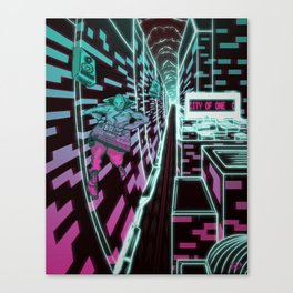 City of one Canvas Print