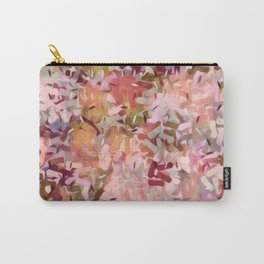 Confetti Tangerine Pink Carry-All Pouch