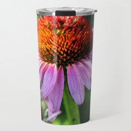 Cone Flower or Echinacea in Horicon Marsh Travel Mug