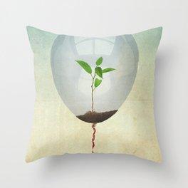micro environment Throw Pillow