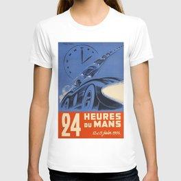 Le Mans 1954, 24hs Le Mans, 1954, original, vintage poster T-shirt