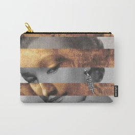 "Leonardo's ""Head of a Woman"" & Marylin Monroe Carry-All Pouch"
