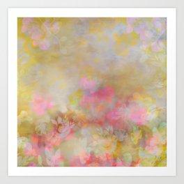 Atmosphere in Yellow Art Print