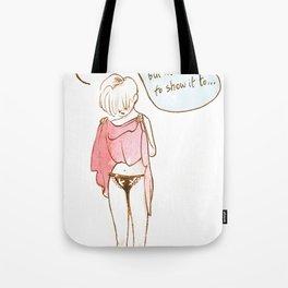 Nice undies Tote Bag