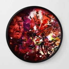The Geisha Butterfly Fx  Wall Clock