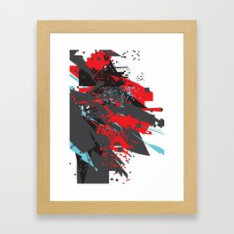 Adventures in an Amorphous Landscape Framed Art Print
