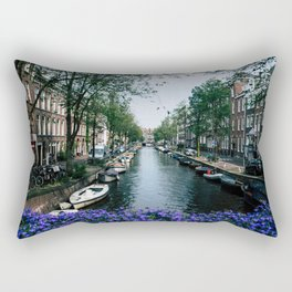 Charming Amsterdam Rectangular Pillow