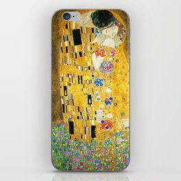 Gustav Klimt The Kiss iPhone Skin