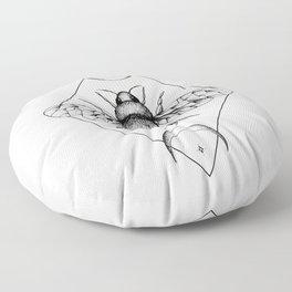 Bee Confident Floor Pillow
