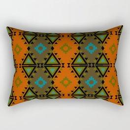 Indian Designs 75 Rectangular Pillow