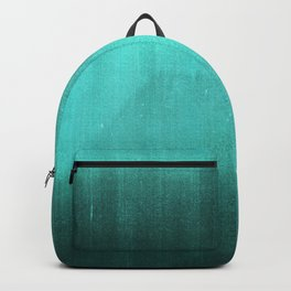 BLUR / abyss / turquoise green Backpack