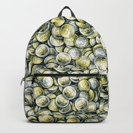 Euro coins / Show me the money Backpack