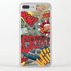 Hiroshige Comic Pop Art Clear iPhone Case