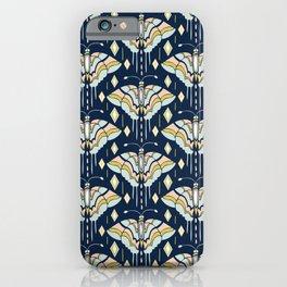 La Maison des Papillons - Midnight iPhone Case
