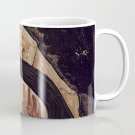Egon Schiele Tote Mutter-Wife died when Pregnant 1910 Coffee Mug