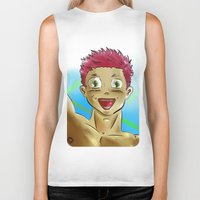yaoi Biker Tanks featuring yaoi boy by bgallery
