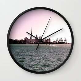 Auckland from Devonport Wall Clock