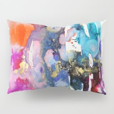alive and walking (abstract) Pillow Sham