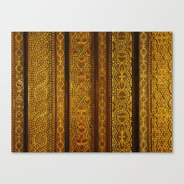 Looking up in the Alhambra Canvas Print