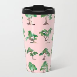 Bonsais Pink Travel Mug