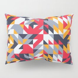 Bold Abstract Shapes Pillow Sham