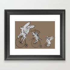 Steam Punk Pets Framed Art Print