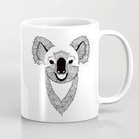 koala Mugs featuring Koala by Art & Be