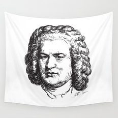 J.S. Bach Wall Tapestry