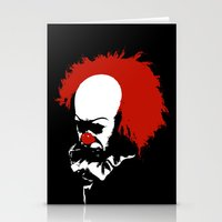 pennywise Stationery Cards featuring Pennywise by KlatuCorp