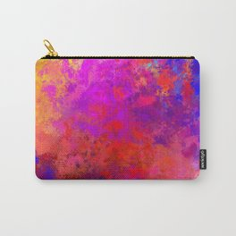 Colorful Splatter Carry-All Pouch
