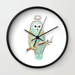 Glory Owl  Wall Clock