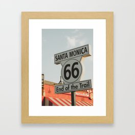 End of the Trail Framed Art Print