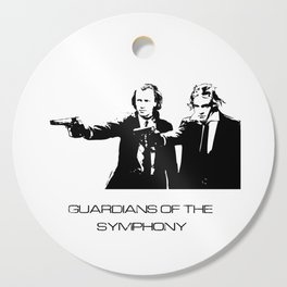 Brahms & Beethoven Guardians of the Symphony Cutting Board