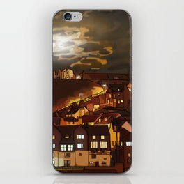 Whitby By Moonlight  iPhone Skin