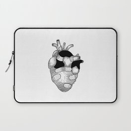 The strongest hearts have the most scars Laptop Sleeve