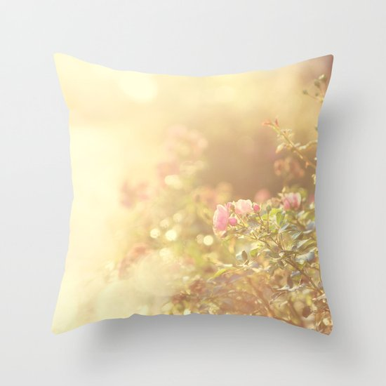 SUNLIGHT GARDEN II Throw Pillow