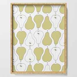 pears Serving Tray