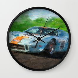 Ford GT 40, Gulf Wall Clock