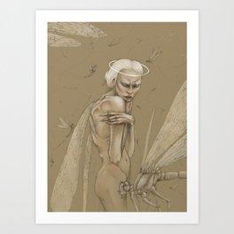 Dragonfly Secrets Art Print