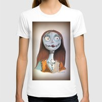 nightmare before christmas T-shirts featuring Sally from nightmare before Christmas by Melissa Rodriguez