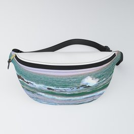 """Moonstone Beach #1"" with poem: Our Beach Fanny Pack"